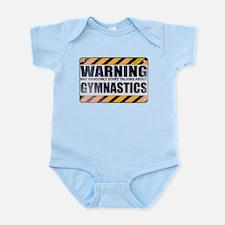 Warning: Gymnastics Infant Bodysuit