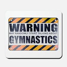 Warning: Gymnastics Mousepad