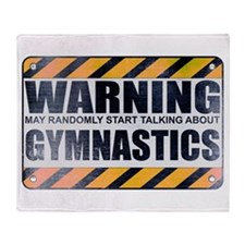 Warning: Gymnastics Stadium Blanket