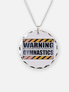Warning: Gymnastics Necklace