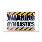 Gymnastics Car Magnets