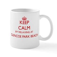 Keep calm by relaxing at Glencoe Park Beach I Mugs
