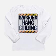 Warning: Hang Gliding Long Sleeve Infant T-Shirt
