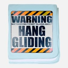 Warning: Hang Gliding Infant Blanket