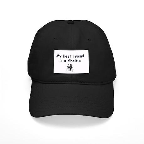 Black Sheltie Baseball Cap