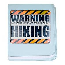 Warning: Hiking Infant Blanket