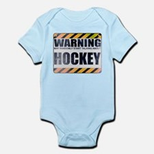 Warning: Hockey Infant Bodysuit