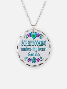 Scrapbooking Smiles Necklace
