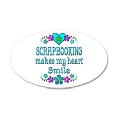 Scrapbooking Smiles Wall Decal