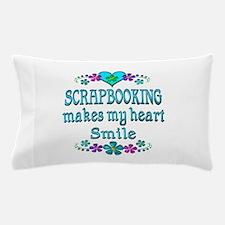 Scrapbooking Smiles Pillow Case