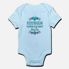 Scrapbooking Smiles Infant Bodysuit