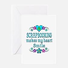 Scrapbooking Smiles Greeting Card