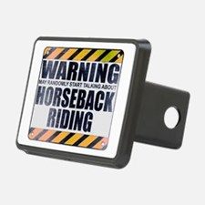 Warning: Horseback Riding Hitch Cover