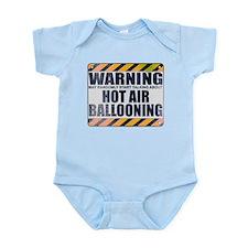 Warning: Hot Air Ballooning Infant Bodysuit
