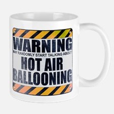 Warning: Hot Air Ballooning Mug