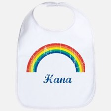 Hana vintage rainbow Bib