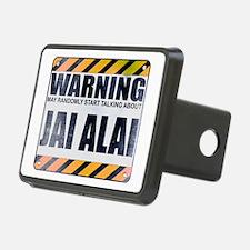 Warning: Jai Alai Hitch Cover