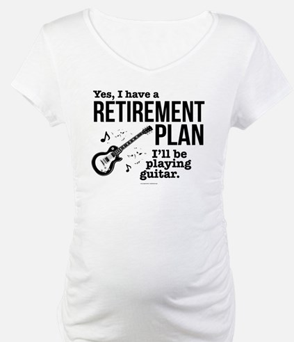 Guitar Retirement Plan Shirt
