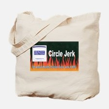 Cute Black rock city Tote Bag