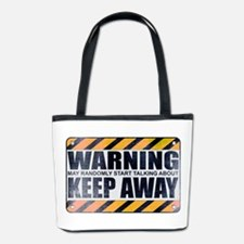 Warning: Keep Away Bucket Bag