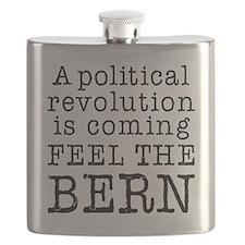 Feel the Bern Revolution Flask