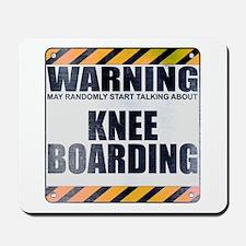Warning: Knee Boarding Mousepad