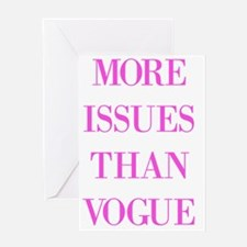 Unique Issues Greeting Card