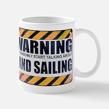 Warning: Land Sailing Mug