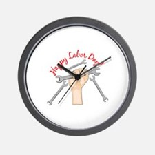 Labor Day Wall Clock