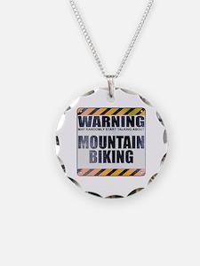 Warning: Mountain Biking Necklace