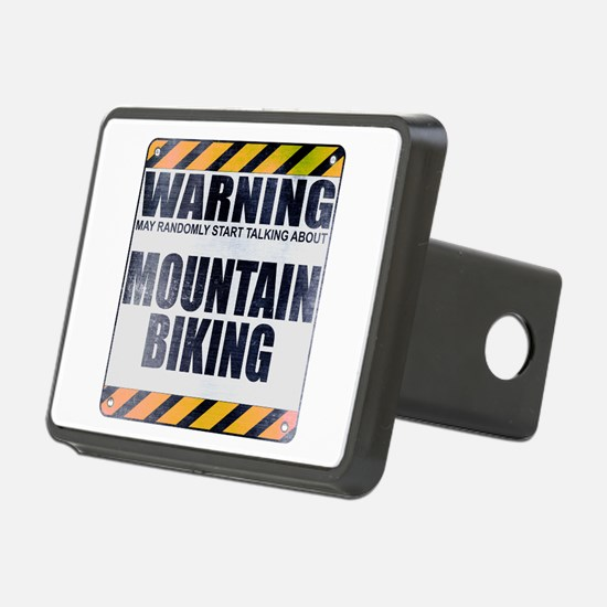 Warning: Mountain Biking Hitch Cover