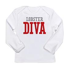 Lobster DIVA Long Sleeve T-Shirt