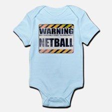 Warning: Netball Infant Bodysuit