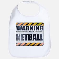 Warning: Netball Bib
