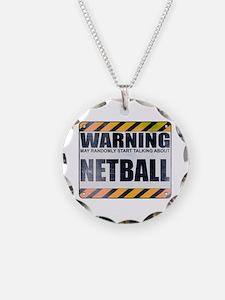 Warning: Netball Necklace