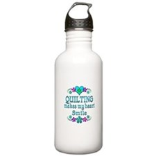 Quilting Smiles Water Bottle