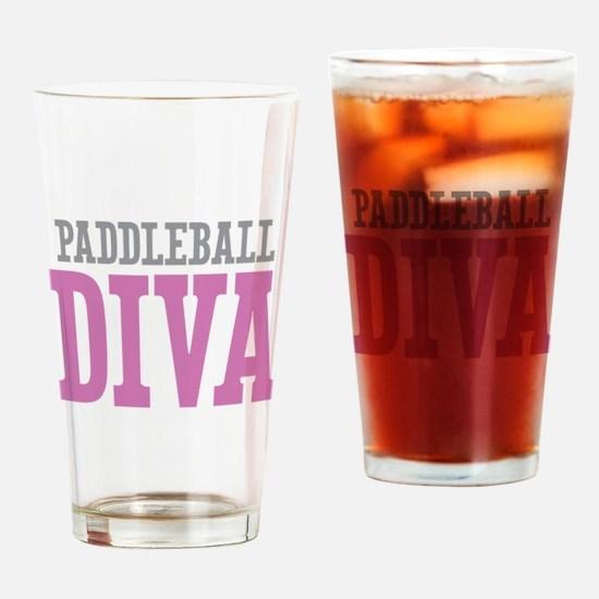 Paddleball DIVA Drinking Glass