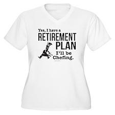 Chef Retirement Plan Plus Size T-Shirt