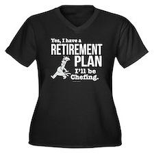 Chef Retirem Plus Size T-Shirt