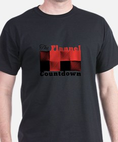 Flannel Countdown T-Shirt