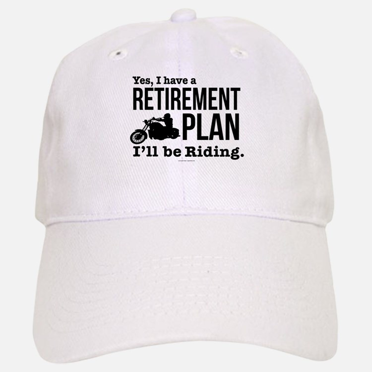 Riding Retirement Plan Baseball Baseball Cap