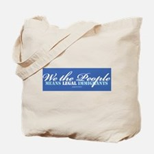 Immigration Tote Bag
