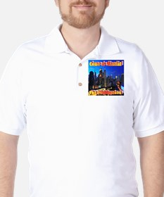 Come to Manila Golf Shirt