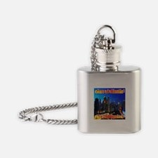 Come to Manila Flask Necklace