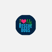 Rescue Dogs Mini Button