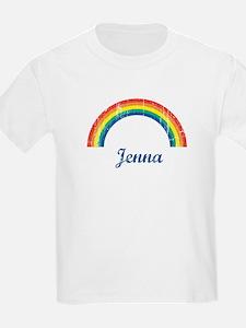 Jenna vintage rainbow T-Shirt