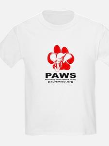Paws Logo - Kids Lightweight T-Shirt