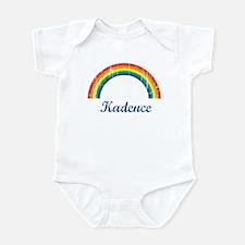 Kadence vintage rainbow Infant Bodysuit