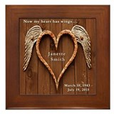 In loving memory Framed Tiles