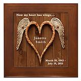 In loving memory Framed Tiles